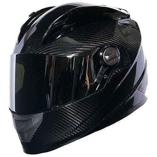 SEDICI Strada Carbon Full-Face Motorcycle Helmet - MD, Carbon