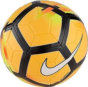 Nike Strike Soccer Ball, Orange/Yellow/Black, 5