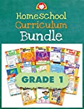 Evan-Moor Homeschool Teaching Resource Curriculum Bundle, Grade 1 Complete Set - 18 Supplemental Workbooks - includes Reading, Writing, Vocabulary, ... Amazon Title - Evan-Moor Homeschool Cur