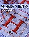 Abécédaires de tradition : Lettres et motifs sur papier transfert par Claire