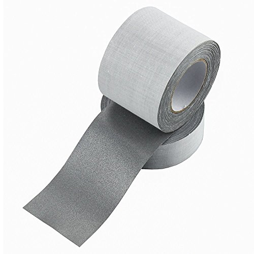 (Safety Sew On Silver Reflective Fabric Tape DIY for Clothing 50mmx10m (2