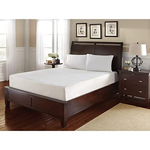WHITE by Sarah Peyton Home Collection WHITE by Sarah Peyton 14-inch Queen-size Gel Convection Cooled Memory Foam - Gel Cooled