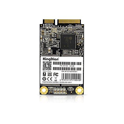 KingDian mSATA mini PCIE 32GB 60GB 120GB 240GB SSD Solid State Drive (30mm50mm) (M100 32GB) (M280 240GB) by KINGDIAN
