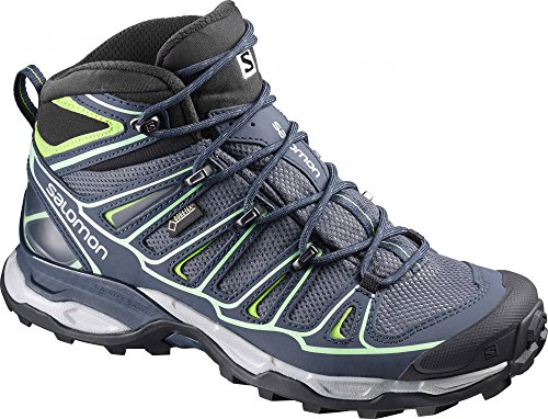 Salomon Womens X Ultra Mid 2 GTX Hiking Shoe Grey Denim/Deep Blue/Lucite Gr SNz9xzYo4M