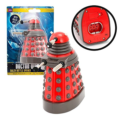 ( Doctor Who Dalek Bottle Opener with Sound FX Effects)