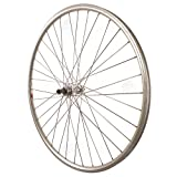 700c rear wheel - Sta-Tru Silver ST725 36H Rim Rear Wheel (700X25)