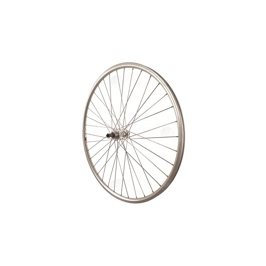 Sta Tru Silver ST725 36H Rim Rear Wheel (700X25)