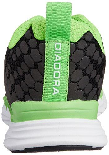 Diadora NJ 160509 C5204 303 Nero - Verde - Bianco Talla:44