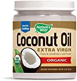 Coconut Oil Good for Hair Nature's Way Organic Extra Virgin Coconut Oil, 32 Ounce