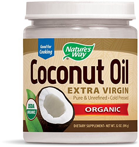Price comparison product image Nature's Way Organic Extra Virgin Coconut Oil, 32 Ounce