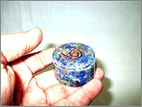Jet Lapis Lazuli Orgone Tower Buster Free Booklet Jet International Crystal Therapy Piezo Electric EMF Protection Generator Frequency Ions Tested Cloud Chem Buster -  Jet International 828