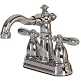 Hardware House 12-1354 2-Handle Non-Metallic Bathroom Faucet, Chrome by Hardware House