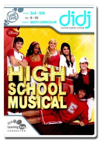 LeapFrog Didj Custom Learning Game: High School Musical -