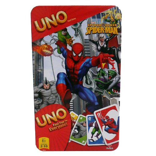 Spider Sense Spider-Man Uno Card Came