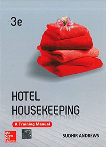 buy hotel housekeeping a training manual book online at low prices rh amazon in Housekeeping Operations Manual Hotel Housekeeping Worksheets