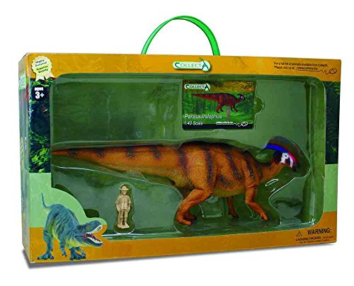 CollectA Parasaurolophus Toy in Window Box (1:40 Scale)