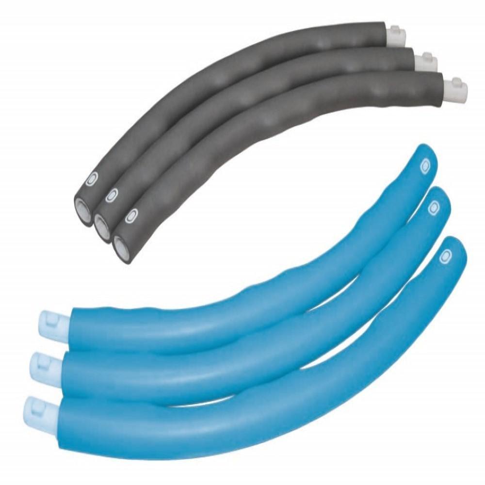 Best Sporting Hula Hoop Reifen 100 cm steckbar blau//anthrazit 6-teilig