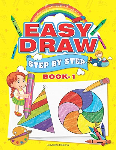 Easy Draw: Step by Step - Book 1