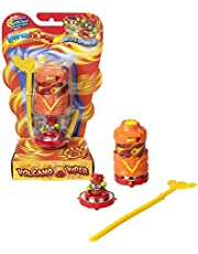 SUPERZINGS Battle Spinners - Volcano Viper, bevat 1 Spinner & 1 SuperThing Exclusive, PSTSBB16IN20