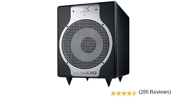 M-Audio Subwoofer BX Subwoofer activo profesional de referencia para la producci/ón musical de estudio 240 W 10