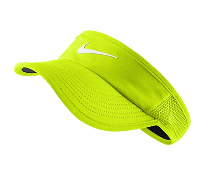 80a7c7fead73d Image Unavailable. Image not available for. Color  Nike Women s NikeCourt Featherlight  Tennis Visor ...