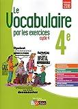 Le vocabulaire par les exercices 4e