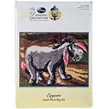 M.C.G. Textiles 52768 Eeyore Rug Disney Dreams Collection by Thomas Kinkade Latch Hook Kit, 26 by 20-Inch