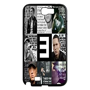 James-Bagg Phone case Singer Eminem Marshall Mathers Protective Samsung Galaxy Note2 N7100/N7102 Style-7