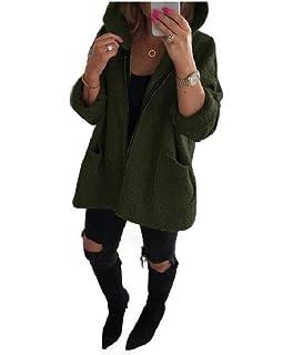 CuteRose Womens Fall Winter Wool Premium Trench Belt Classics Woolen Coat