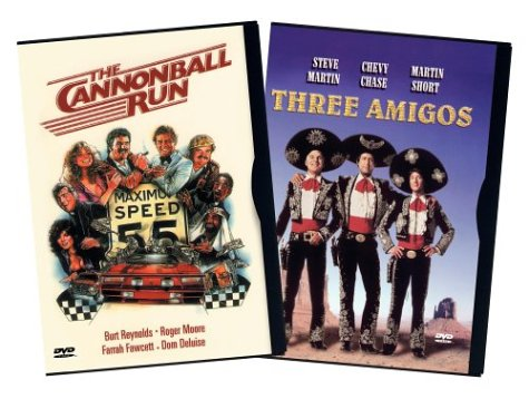The Cannonball Run/Three Amigos by HBO HOME VIDEO