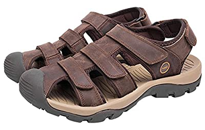 AGOWOO Women's Fisherman Sandles Outdoor Hiking Beach Sandals