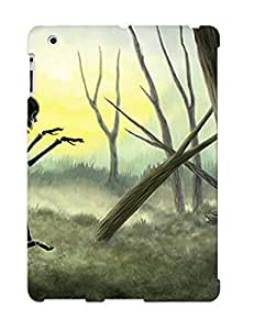Christmas Day's Gift- New Arrival Cover Case With Nice Design For Ipad 2/3/4- Vorspiel The Creeping Skeleton