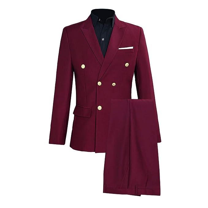 Sencillo Vida Traje Suit Hombre Chaqueta Pantalón Color ...