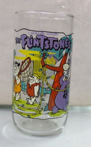 vintage-hardees-the-flintstones-drinking-glass