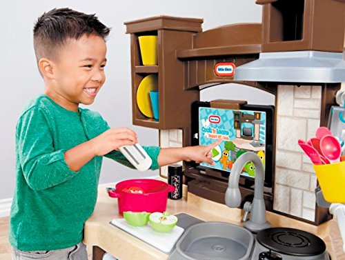51F61DetwVL - Little Tikes Cook 'n Learn Smart Kitchen