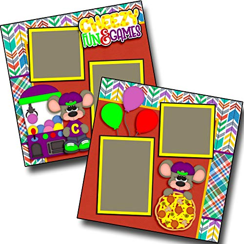 Cheezy Fun - Premade Scrapbook Pages - EZ Layout 3446 ()