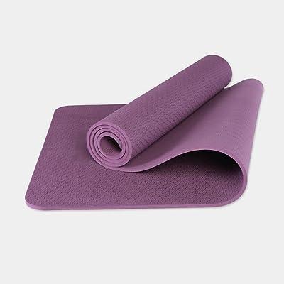 183 * 80cm Tapis de sport antidérapant Mat mat de yoga Multi-couleurs Facultatif