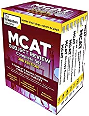The Princeton Review MCAT Subject Review Complete Box Set, 3rd Edition: 7 Complete Books + 3 Online Practice T