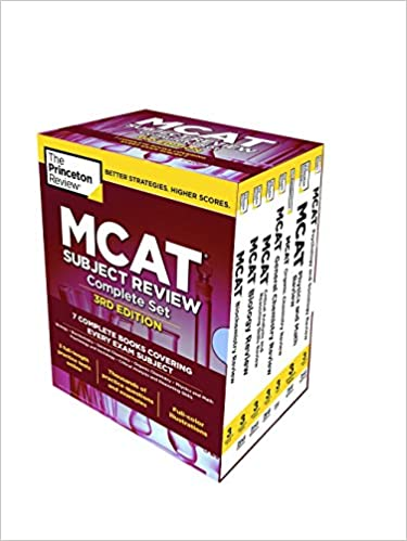 The Princeton Review MCAT Subject Review Complete Box Set
