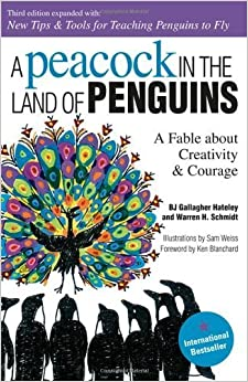 Book A Peacock in the Land of Penguins by B. J. Gallagher Hateley (2001-12-15)