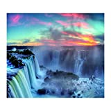 Weiliru Tapestry Wall Tapestry Wall Hanging Tapestries Sunset Forest Tapestry Wall Hanging Tapestry with Romantic Pictures Art Nature Home Decorations Tapestries