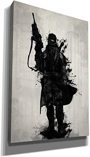 Cortesi Home Post Apocalyptic Warrior Giclee Canvas Wall Art