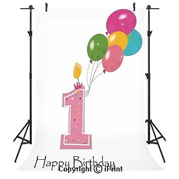 Amazon.com: 1er cumpleaños decoraciones fotografía fondos de ...