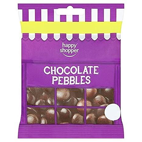 Glücklicher Käufer Schokolade Kiesel 75g (Packung mit 12 x 75g ...