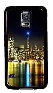 cute Samsung Galaxy S5 cover Urban Landscape PC Black Custom Samsung Galaxy S5 Case Cover