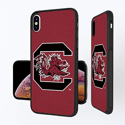 Keyscaper NCAA South Carolina Fighting Gamecocks Apple iPhone Bump CaseBump Case, Black, iPhone Xs Max