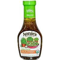 Annie's Naturals, 有机油醋汁,葡萄黑醋香醋,8液体盎司(236毫升)