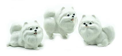 Amazoncom Animal Miniature Handmade Porcelain Statue 3 White