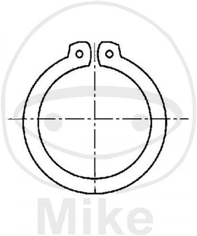 Pack of 15 Dresselhaus Retaining Rings for shafts A 15 15/x 1