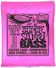 Cuerdas para bajo Ernie Ball Super Slinky Nickel Wound Short Scale - 45-100 Gauge